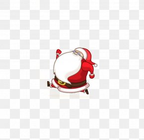 Running Santa Claus - Santa Claus Christmas Drawing PNG