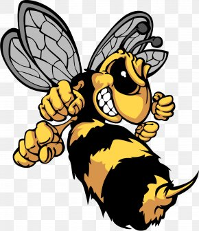 Bumble Bee - Bee Hornet Insect Yellowjacket PNG