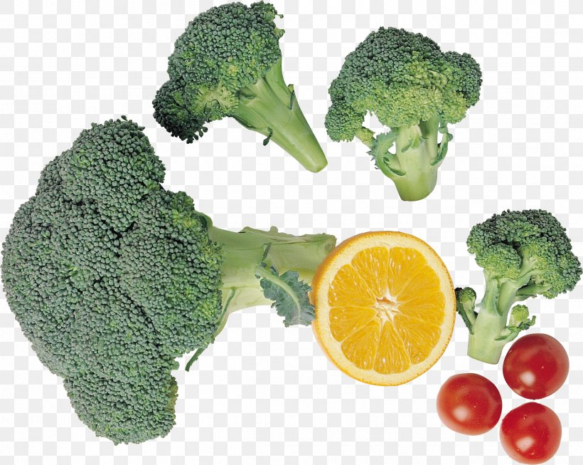 Broccoli Cherry Tomato Vegetarian Cuisine Food, PNG, 2423x1930px, Broccoli, Cauliflower, Chinese Cabbage, Diet Food, Food Download Free