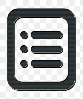 Rectangle Settings Icon - Categories Icon Configuration Icon Document Icon PNG