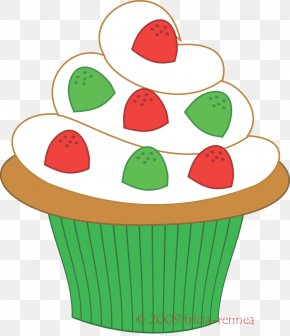 Cute Cupcakes Cliparts - Cupcake Muffin Christmas Cake Birthday Cake Clip Art PNG