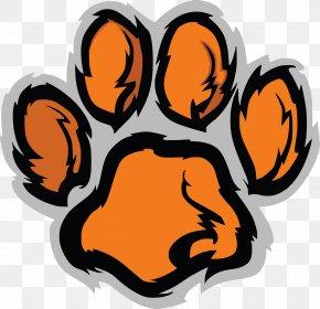 Cute Cat Claws - Tiger Paw Clemson University Clip Art PNG