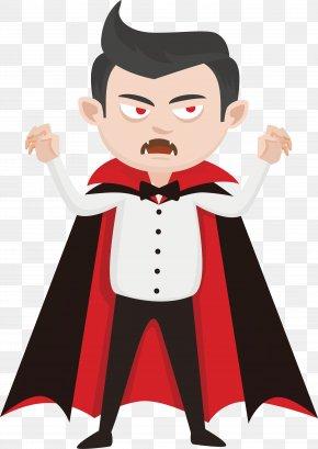 Vicious Vampire - Vampire Illustration PNG