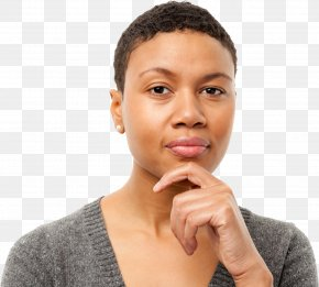 Thinking Woman - Woman Thought Icon PNG