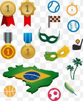 Brazil Rio Olympics Decorative Elements - 2016 Summer Olympics Opening Ceremony Rio De Janeiro Olympic Spirit Sport PNG
