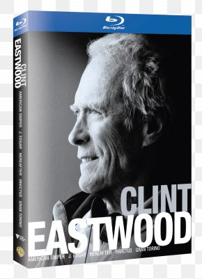 Clint Eastwood - Blu-ray Disc Film Director Box Set DVD PNG