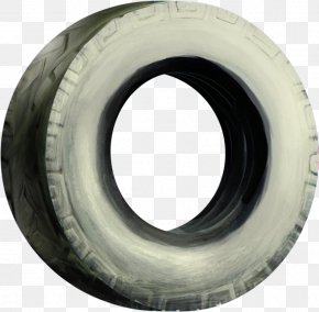 Cartoon Car Tires - Car Tire Wheel PNG