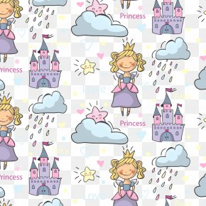Vector Little Princess - Princess Download Pattern PNG