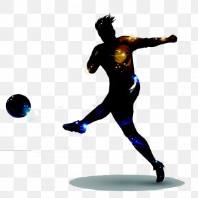 Football,Football,soccer Player - Football Player Shooting Goal PNG