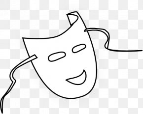 Sketch Face - Mask Masquerade Ball Clip Art PNG