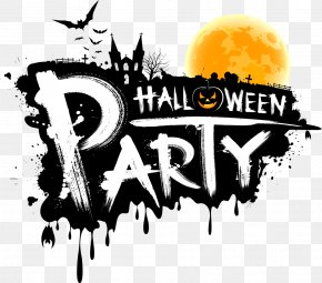 Vector Halloween Party WordArt - Zumba Kids Halloween Costume Party PNG