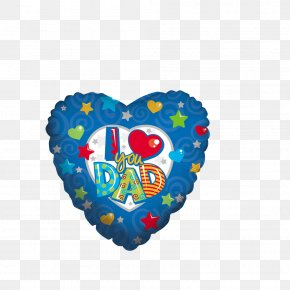 Father's Day - Mylar Balloon Father Love Toy Balloon PNG