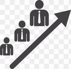 Up Arrow Ladder - Stairs Business Teamwork PNG