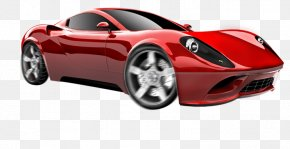 Sports Car - Sports Car Ferrari Dino Clip Art PNG