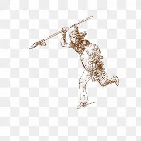 Warrior Spear - Adobe Illustrator PNG