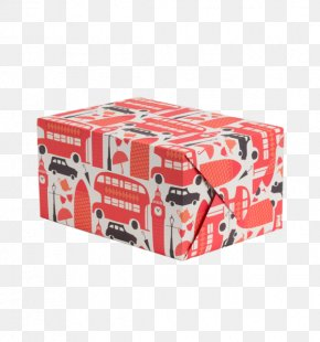 Design - Art Paper Box Gift Wrapping PNG