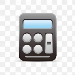 Black Calculator - Calculator PNG