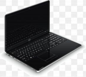 Laptop - Laptop Netbook Computer Keyboard PNG