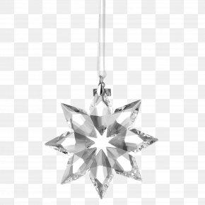 Crystal Snowflake Ornaments - Snowflake Crystal Pendant PNG