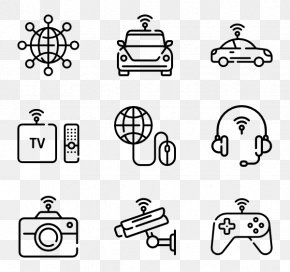 Internet Of Things - Drawing Icon Design Clip Art PNG