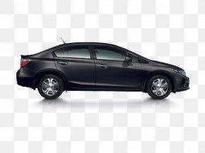 Car - Honda Civic Hybrid Mid-size Car Motor Vehicle PNG