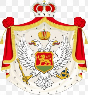 Kingdom Of Montenegro - Kingdom Of Montenegro Principality Of Montenegro Coat Of Arms Of Montenegro PNG