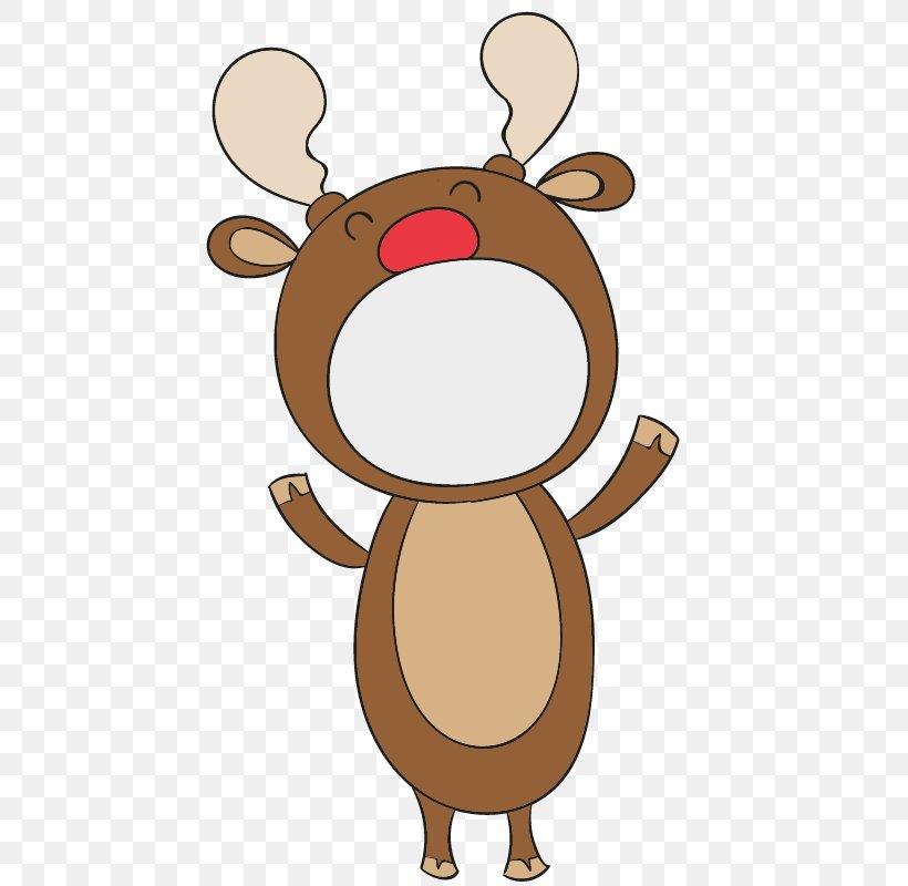 Reindeer Drawing Christmas Cartoon Png 800x800px Reindeer