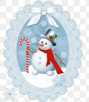 Snowman Banna - Santa Claus Candy Cane Christmas Decoration Clip Art PNG