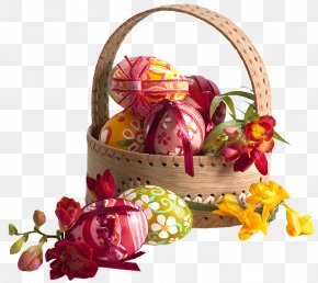 Egg - Egg In The Basket Egg In The Basket Easter Basket Easter Egg PNG