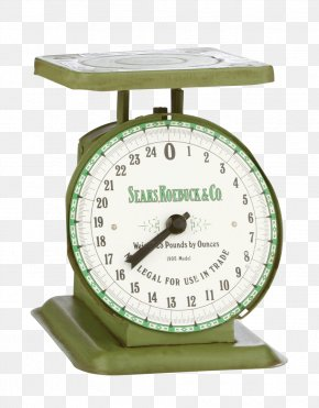 Kitchen Scale - Measuring Scales United States Vintage Clothing Antique Sears PNG