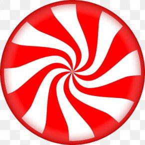 Lollipop - Candy Cane Lollipop Peppermint Clip Art PNG