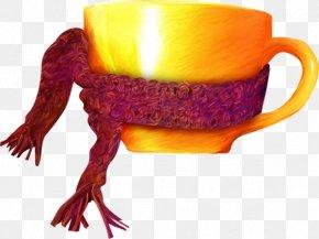 Golden Cup - Tea Coffee Cup PNG