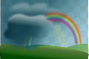 Images Of A Rainbow - Rainbow Clip Art PNG