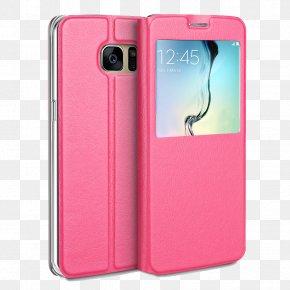 I6 Pink Phone Case - Samsung Galaxy S6 Edge Amazon.com Case Telephone PNG