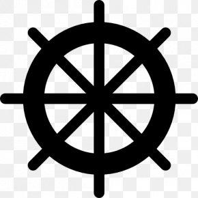 Ship - Ship's Wheel Clip Art PNG