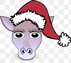 Working Animal Livestock - Head Cartoon Nose Snout Headgear PNG