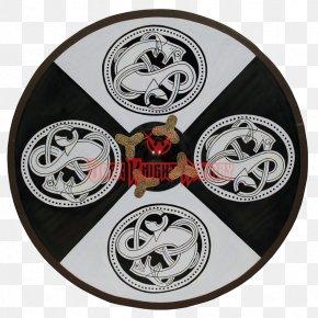 Shield - Round Shield Viking Norsemen Old Norse PNG