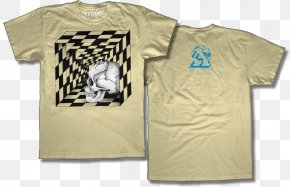 T-shirt - T-shirt White Skull Sleeve PNG