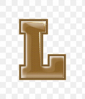 Metal Letter L - Metal Letter Digital Data PNG