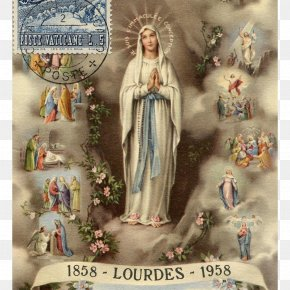 Jesus - Our Lady Of Lourdes Rosary Prayer Holy Spirit PNG