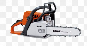 Orange Small Chainsaw - Stihl Chainsaw Tool Price PNG