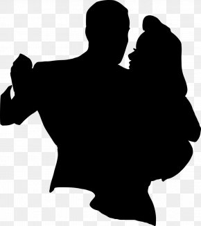 Silhouette - Dance Silhouette Drawing Clip Art PNG