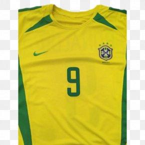 Brazil Team - T-shirt Brazil National Football Team Jersey Brazil At The 2002 FIFA World Cup PNG