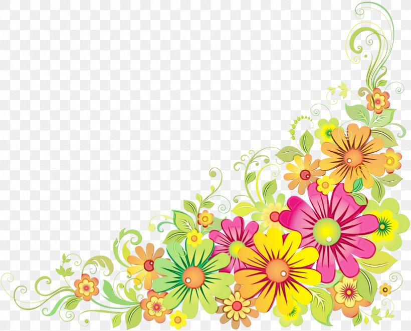 Border Design Flower Png 1600x1291px Flower Borders And Frames