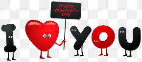 I Love You Clipart Image - Love Heart Clip Art PNG