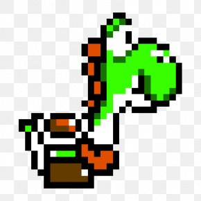 Mario Pixel - Mario & Yoshi Super Mario World 2: Yoshi's Island Super Nintendo Entertainment System Wii PNG
