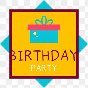 Happy Birthday, Golden Label - Happy Birthday To You Gift Birthday Cake PNG