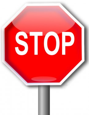 Stop Sign Art - Stop Sign Clip Art PNG