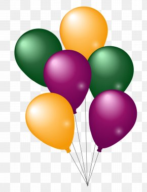 Colorful Party Balloons - Balloon Party PNG