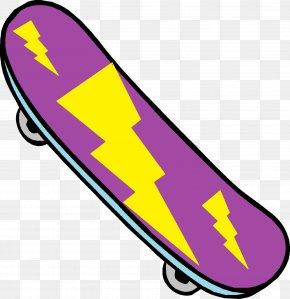 Skateboard Clipart - Skateboarding Clip Art PNG